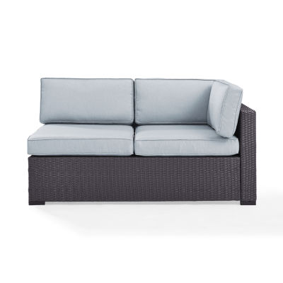 Biscayne Interchangeable Arm Loveseat With Cushions