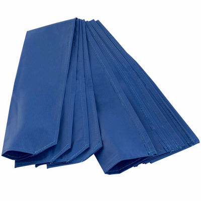 Trampoline pole sleeve protector - set of 4 - blue