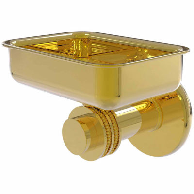 Allied Brass Mercury Collection Wall Mounted Soap Dish with Dotted Accents