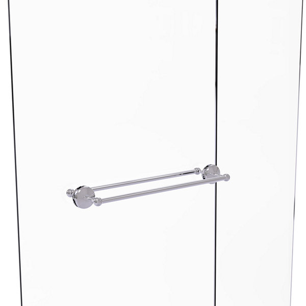Allied Brass Monte Carlo Collection 24 IN Back ToBack Shower Door Towel Bar