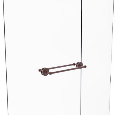 Allied Brass Shadwell Collection 30 Inch Towel BarWith Integrated Hooks