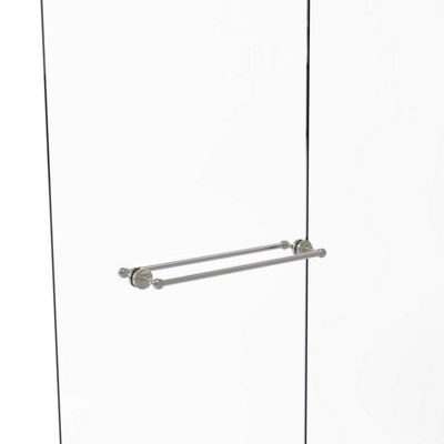 Allied Brass Sag Harbor Collection 30 Inch Towel Bar With Integrated Hooks