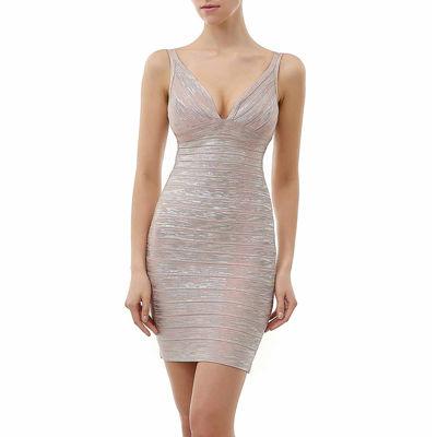 phistic Women's Shimmer Bandage Dress