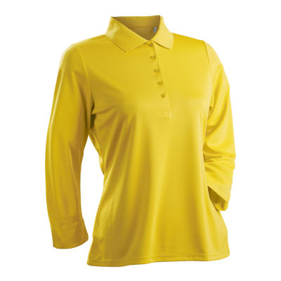 Nancy Lopez Golf Luster 3/4 Sleeve Polo Plus