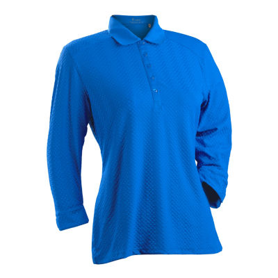 Nancy Lopez Golf Grace 3/4 Sleeve Polo Plus