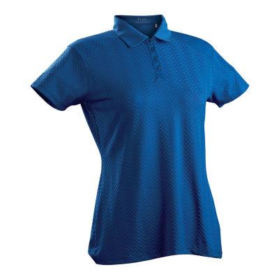Nancy Lopez Golf Grace Short Sleeve Polo Plus