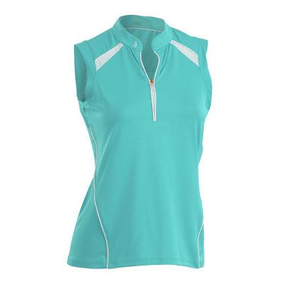 Nancy Lopez Golf Sporty Sleeveless Polo Plus