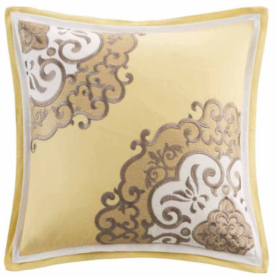 Medallion Square Throw Pillow