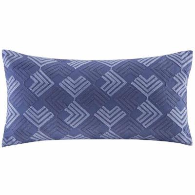 Yumi Botenical Oblong Throw Pillow