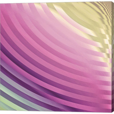 Satin III Gallery Wrapped Canvas Wall Art On Deep Stretch Bars