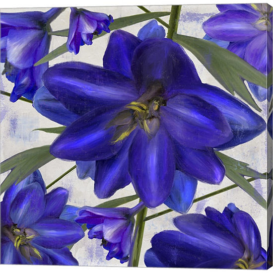 Delphine I Gallery Wrapped Canvas Wall Art On Deep Stretch Bars