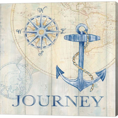 Sail Away III Gallery Wrapped Canvas Wall Art On Deep Stretch Bars