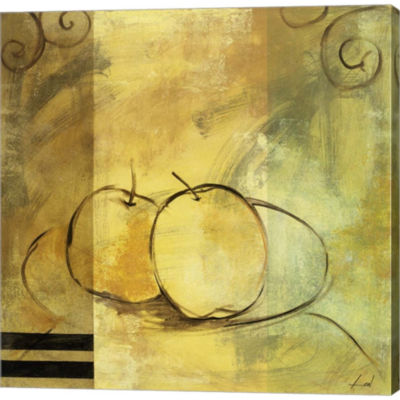 Apples Gallery Wrapped Canvas Wall Art On Deep Stretch Bars