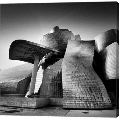 Guggenheim Bilbao Gallery Wrapped Canvas Wall Art On Deep Stretch Bars