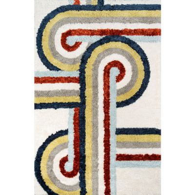 Novogratz By Momeni Turnstyle Hand Tufted Rectangular Indoor Accent Rug