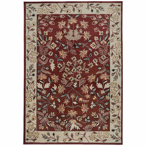 Rizzy Home Bayside Collection Power-Loomed BrandonGeometric Rug