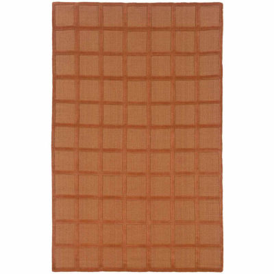 Rizzy Home Galaxy Collection Hand Tufted Ethan Geometric Rug