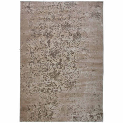 Rizzy Home Galleria Collection Power-Loomed JacobGeometric Rug