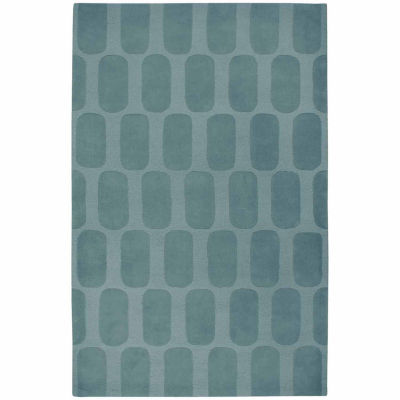 Rizzy Home Platoon Collection Hand Tufted Evan Geometric Rug