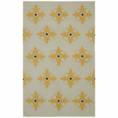 Rizzy Home Swing Collection Hand Made Flatweave Anthony Geometric Rug