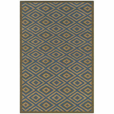 Rizzy Home Swing Collection Hand Made Flatweave Ian Geometric Rug