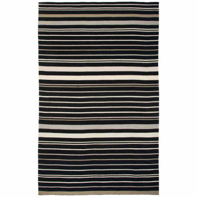 Rizzy Home Swing Collection Hand Made Flatweave Owen Geometric Rug
