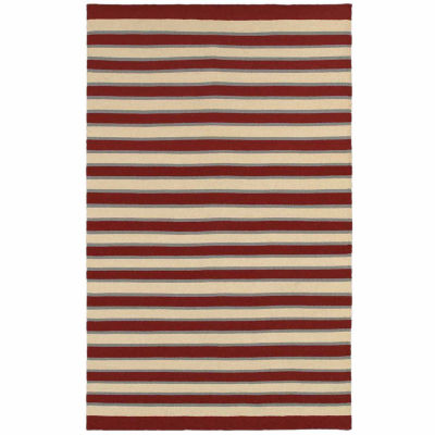 Rizzy Home Swing Collection Hand Made Flatweave Ryan Geometric Rug