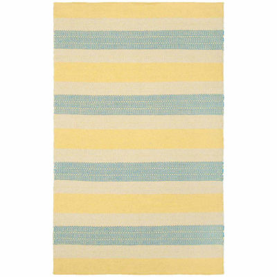 Rizzy Home Twist Collection Hand Made James Geometric Rug