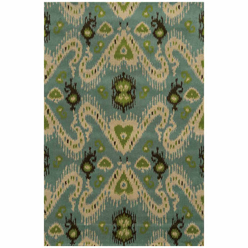 Rizzy Home Volare Collection Hand-Tufted Carson Geometric Rug