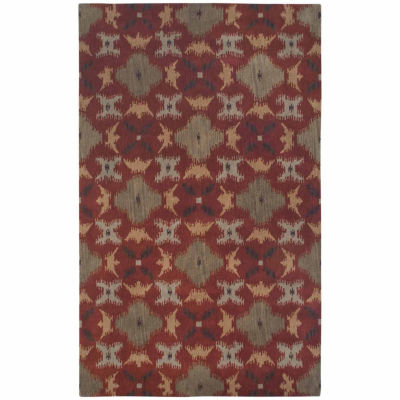 Rizzy Home Volare Collection Hand-Tufted Devin Geometric Rug
