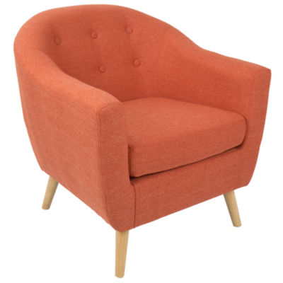 Rockwell Tufted Barrel Chair
