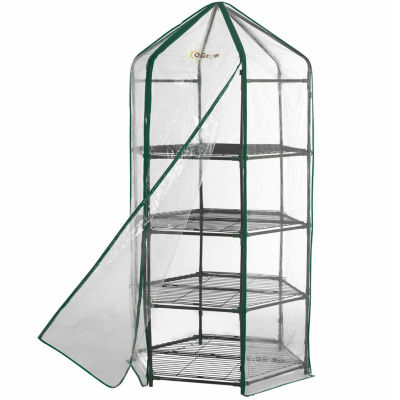 Ogrow Ultra-Deluxe 4 Tier Hexagonal Flower Planthouse
