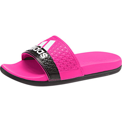 adidas Little Kid/Big Kid Girls Adidas Adilette Comfort K Slide Sandals