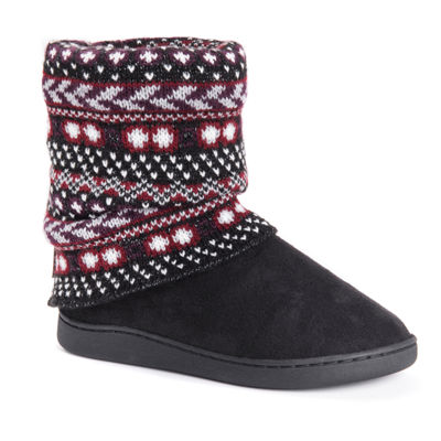 Muk Luks Women'S Raquel Womens Bootie Slippers