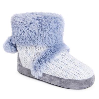 Muk Luks Penelope Womens Bootie Slippers