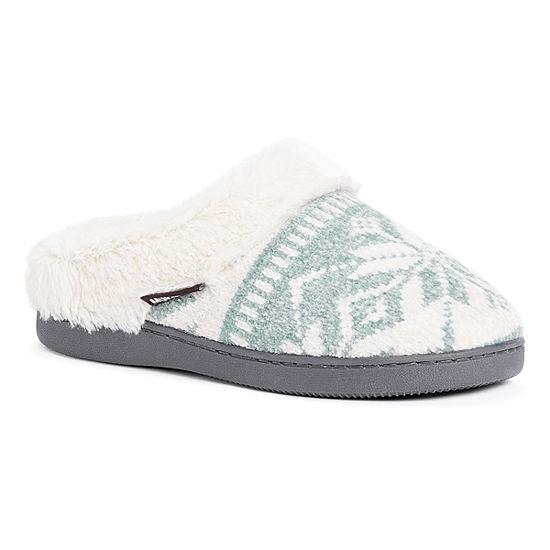 0dc4b85471a8 Muk Luks Briar Womens Memory Foam Clog Slippers - JCPenney