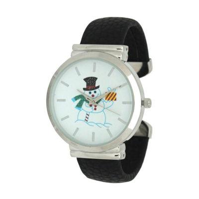 Olivia Pratt Womens Black Strap Watch-A917479black