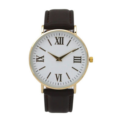 Olivia Pratt Womens Black Strap Watch-515309black