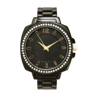 Olivia Pratt Womens Black Bracelet Watch-A915771black
