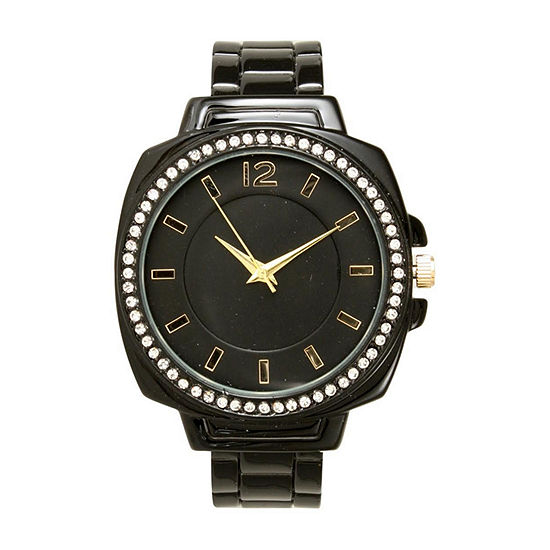 Olivia Pratt Womens Black Bracelet Watch-A915771black