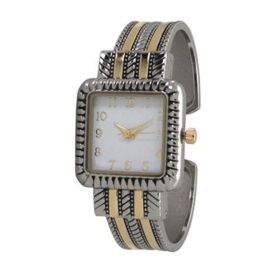 Olivia Pratt Womens Two Tone Bracelet Watch-A916977twotone