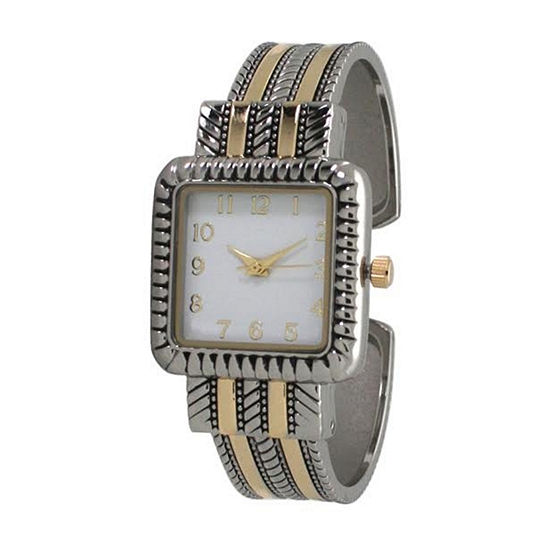 Olivia Pratt Womens Two Tone Bracelet Watch - A916977twotone