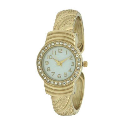 Olivia Pratt Womens Gold Tone Bracelet Watch-A917620gold