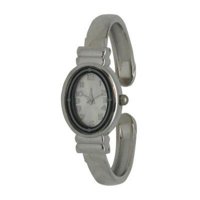 Olivia Pratt Womens Silver Tone Bracelet Watch-17296bsilver
