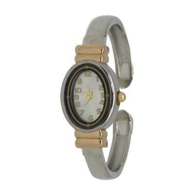 Olivia Pratt Womens Two Tone Bracelet Watch-17296btwotone