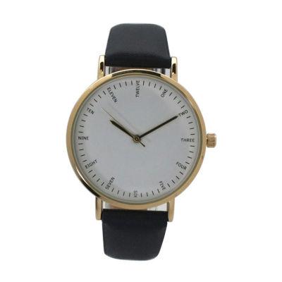 Olivia Pratt Womens Blue Strap Watch-A917913navy