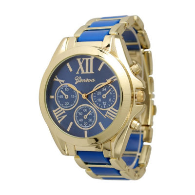 Olivia Pratt Womens Blue Bracelet Watch-13162royal