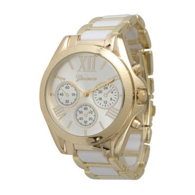 Olivia Pratt Womens White Bracelet Watch-13162white