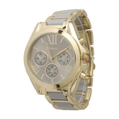Olivia Pratt Womens Gray Bracelet Watch-13162grey