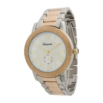 Olivia Pratt Womens Two Tone Bracelet Watch-12997twotone